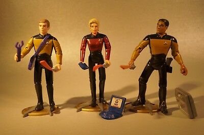 Star Trek The Next Generation Custom Crewmitglieder Shelby Playmates 12cm