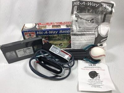 Baseball Swing Trainer Practice Hit a Way Hitting Solo Training Vintage With VHS