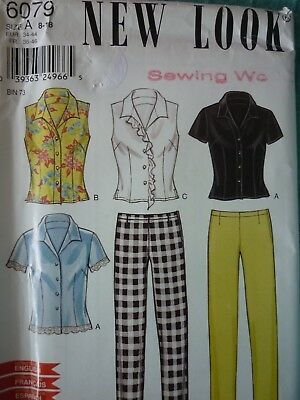 Uncut New Look Blouses & Trousers Sewing Dressmaking Pattern
