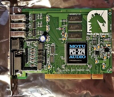 MOTU PCI-324 AudioWire PCI Interfacekarte
