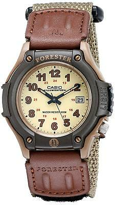 Reloj hombre tela cuero Casio Men's FT500WVB-5BV cloth / leather classic watch