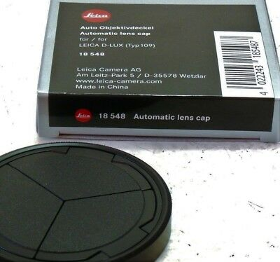 18548 Official Leica Automatic Lens Cap D-LUX  (for Typ 109 digital camera)