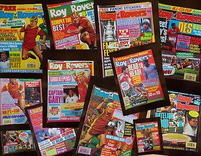 Roy of the Rovers 1990 comics  - 11 in all