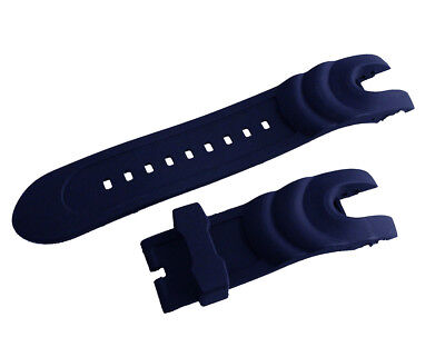 New Blue Rubber Watch Strap Band For Invicta Reserve Collection Venom 14465
