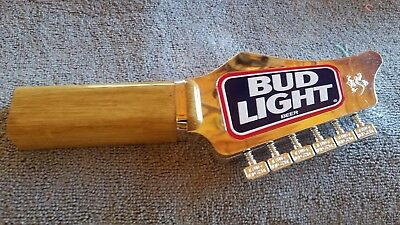 Rare Bud Light Guiter Beer Tap Handle ,great Condition!