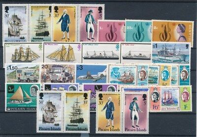 [G70703] Pitcairn Islands good lot Very Fine MNH stamps