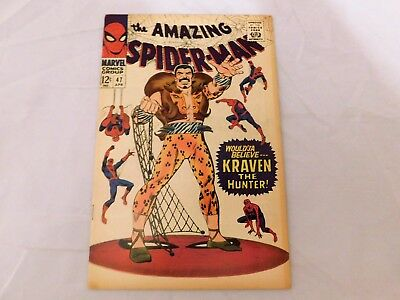 Amazing Spider-Man #47 (1967) HIGH GRADE Kraven Green Goblin Apps Silver Age Key