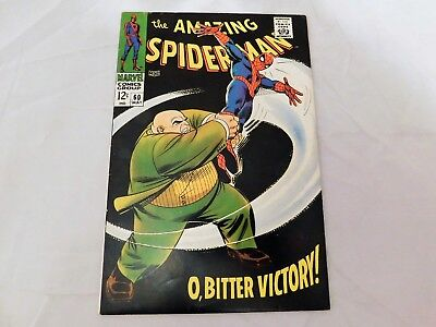 Amazing Spider-Man #60 (1968) Romita Kingpin Cover Nice Silver Age