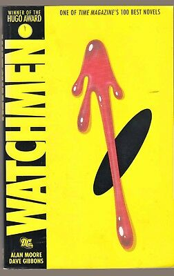 WATCHMEN (2005) DC Comics TPB - Alan Moore, Dave Gibbons - Hugo Award Winner