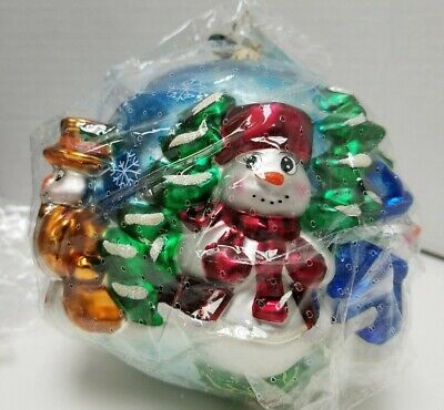 2003 LIMITED EDITION EBAY COLLECTIBLE SNOWMAN CHRISTMAS ORNAMENT 16 of 2000