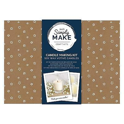Docrafts Simply Make Craft Kit - Soy Candle Making Kit