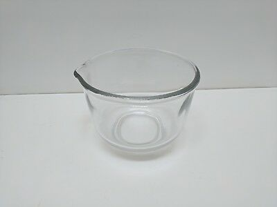 Vintage Oster Small Glass Mixing Bowl Regency Kitchen Center Replacement Part