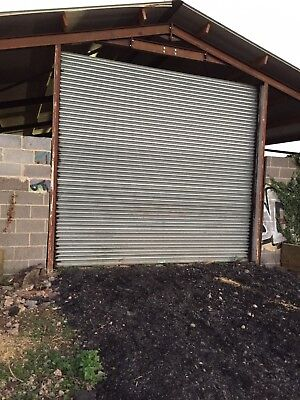 electric roller shutter doors used