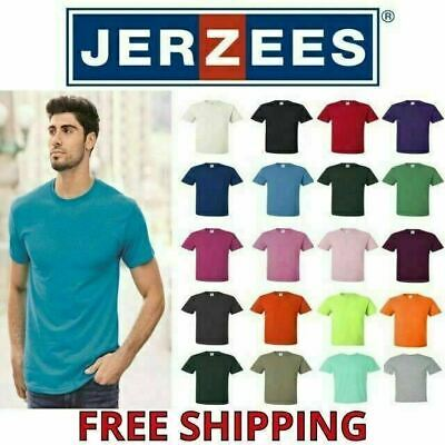 JERZEES DRI-POWER Blend Mens T-SHIRT Active Comfort Big Sizes S-5XL - 29M