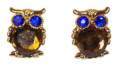 Cute Owl Rhinestone Earrings Jewelry Women Girls Teens Fashionable Fashion