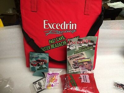 Extremely Rare Jimmie Johnson #92 RED Excedrin Seat Cushion with extras PROMO