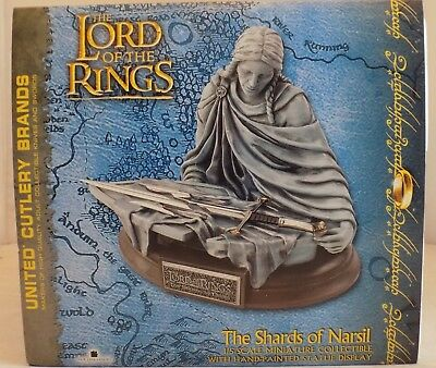United Cutlery LOTR Shards of Narsil 1/5 Scale Hand-Painted Statue--w/o Sword