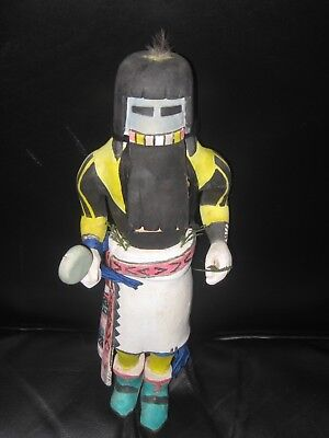 c1940 HOPI LONG HAIR RAIN KACHINA NATIVE AMERICAN INDIAN KACHINA-VERY LOW START!