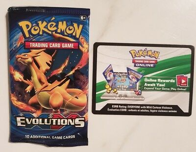 12 Pokemon TCG - XY Evolutions Online Booster Unused Code Cards - eBay messaged