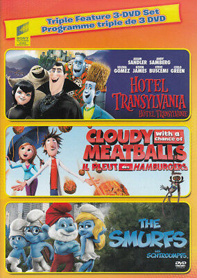 Hotel Transylvania / Cloudy with a Chance of M New DVD