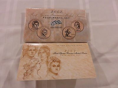 2007 First Spouse Bronze Medal Coin Set - 4 Coin Set - US Mint