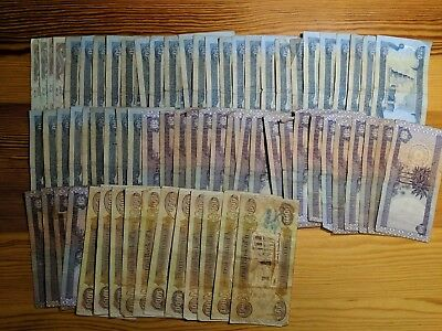 IRAQI DINAR 31,077 - Mix of Currency Notes - AUTHENTIC - FAST DELIVERY