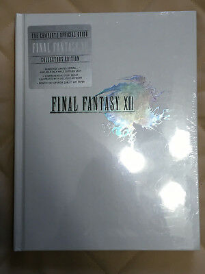 Final Fantasy XIII 13 - Collector Guide - Sealed