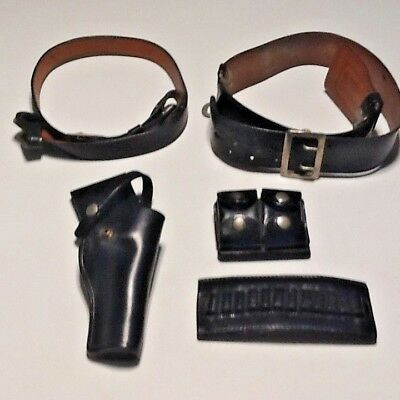 Vintage Jay-Pee Police Small Belt. Holster Bullet Holder  Plus Awesome 5 Piece