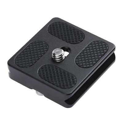 PU40 Quick Release Plate for J1 N1 Tripod Ball Head Arca Swiss w/1/4 in Screw
