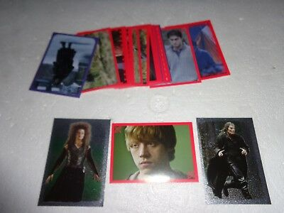 Harry Potter Panini Stickers X25 Deathly Hallows Part 1 - All Different.