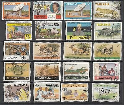 TANZANIA  STAMPS USED .Rfno.A661.