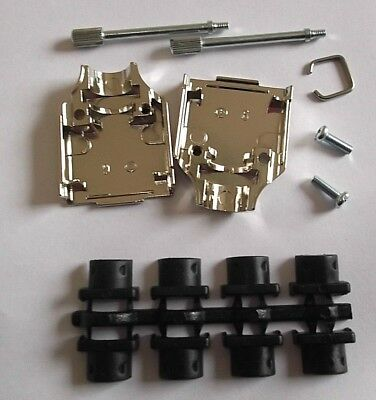 9 Way Dee Metal Cover DTZK-9-K Hood D Backshell Nickel OSSI MH x 1pc or ONO