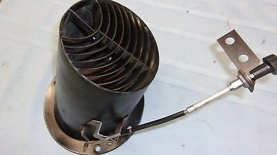 67 68 Mustang Drivers Side Fresh Air Vent With Cable