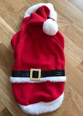 Small Dog Santa Suit Jumper M-XL
