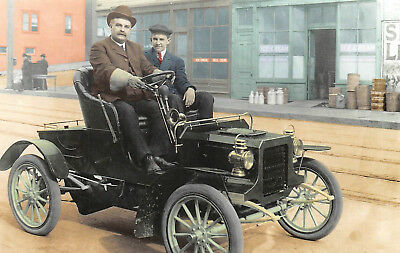 Postcard 1905 Cadillac Runabout Series E Vintage Unused A12