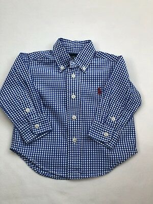 Ralph Lauren Boys Shirt 9 Months