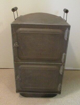 Antique Toledo Cooker Co. Stove Top Steamer, Canner, Copper Base, Pat.Date 1907