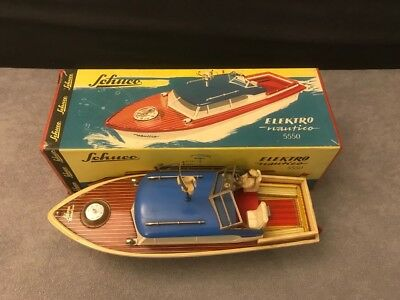 Schuco Boot Elektro Nautico 5550 in OVP 1958 - 1966 Made in Western Germany
