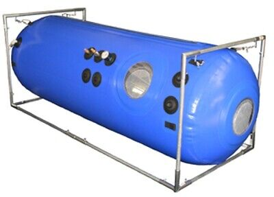 34 inch Hyperbaric Chamber w Safety Gauge Portable Chamber for Oxygen Therapy