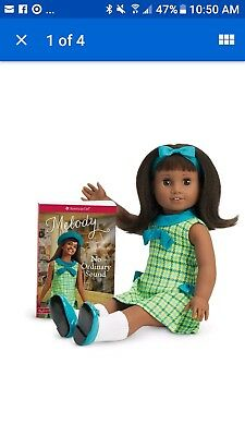 """American Girl Doll Melody Ellison BeForever With Book 18"""" New"""