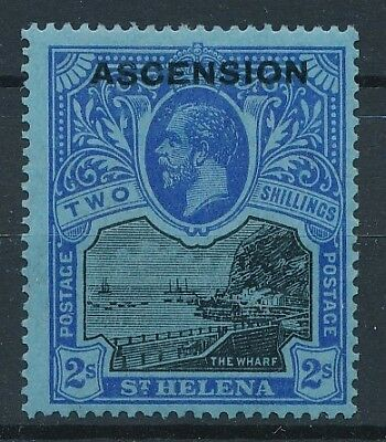 [30222] Ascension 1922 Good stamp Very Fine MH Value $130