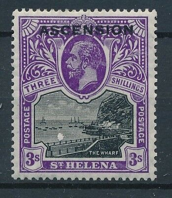 [30223] Ascension 1922 Good stamp Very Fine MH Value $165