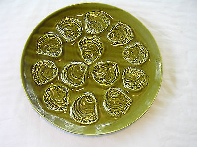 Faience de St. Amand French Oyster Serving Platter & Plates-YOU PICK