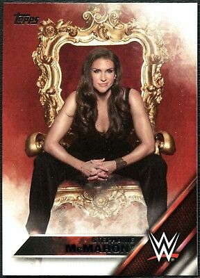 Stephanie McMahon #146 WWE Then Now Forever 2016 Topps Trade Card (C2043)