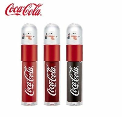 THE FACE SHOP Coca Cola Coke Bear Tint (3kinds) / Free Gift / Korean Cosmetic