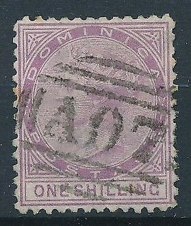 [39840] Dominica 1874 Good stamp Perforation 12;5 Very Fine used Value $95
