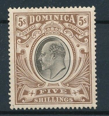 [39846] Dominica 1907 Good stamp Very Fine MH Value $115