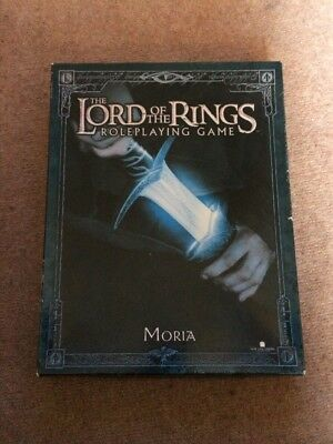 The Lord of the Rings Roleplaying Game Moria Expansion- Decipher
