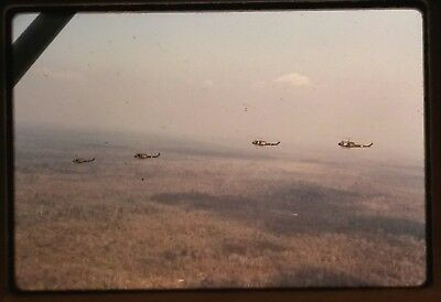 Vietnam Slide- Army GI w/134TH AVN CO-260TH TC DET 'DELTA RIDERS' CAN THO AO #7