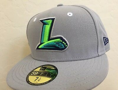 a26aece94e8 NEW AKRON RUBBERDUCKS New Era 59Fifty MiLB Fitted Cap Hat Size 7 1 4 ...